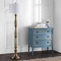 Safavieh Lighting 62-inch Isannah Candlestick Gold Floor Lamp