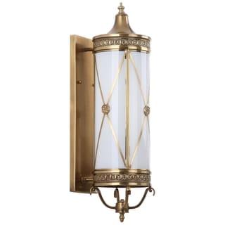 Safavieh Lighting 29.5-inches 3-light Darby Brass Sconce