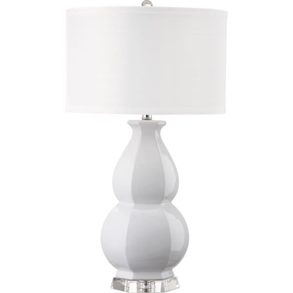 Safavieh Lighting 30.25-inch Juniper White Table Lamp