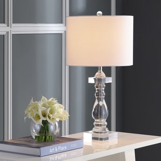 Safavieh Lighting 27.5-inch Delta Clear Table Lamp