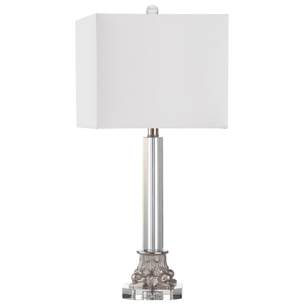 Safavieh Lighting 27.5-inch Chena Clear Table Lamp