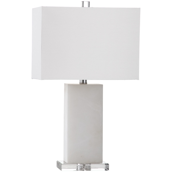 Safavieh Lighting 24-inch Martin Marble Table Lamp