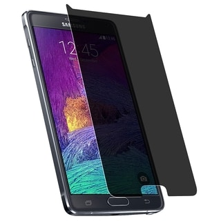 INSTEN Privacy Anti Spy Screen Protector For Samsung Galaxy Note 4 SM-N910