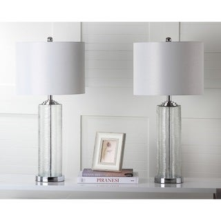 Safavieh Lighting 29-inch Grant Clear Table Lamp (Set of 2)