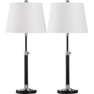 Safavieh Lighting 29-inch Jones Black Table Lamp (Set of 2)