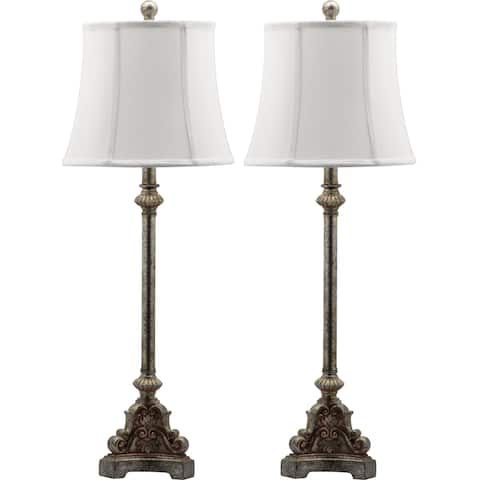 Safavieh Lighting 34-inch Rimini Console Antiqued Table Lamp (Set of 2)