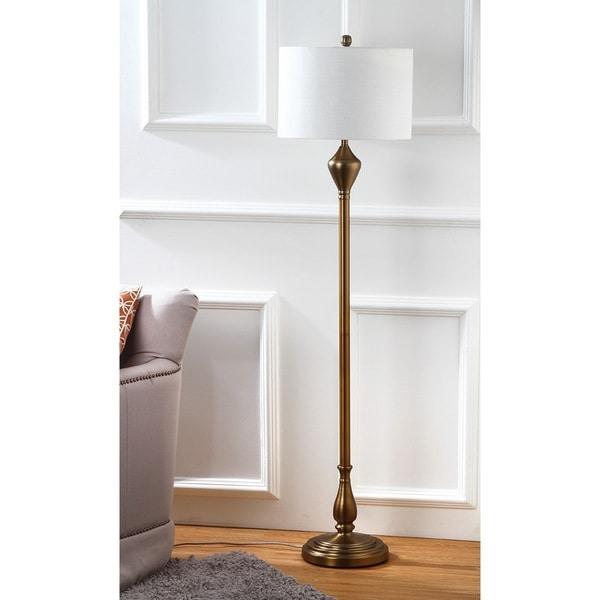 Safavieh Lighting 60.5-inch Xenia Gold Floor Lamp