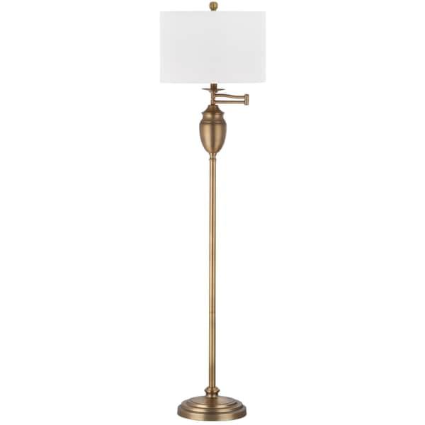 Safavieh Lighting 60 Inch Antonia Gold Floor Lamp Free