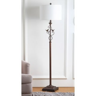 Safavieh Lighting 61-inch Birdsong Oil-Rubbed Bronze Floor Lamp