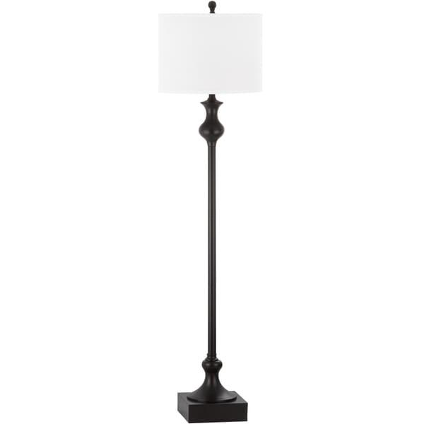 Safavieh Lighting 61.5-inch Brewster Oil-Rubbed Bronze Floor Lamp