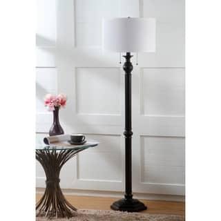 Safavieh Lighting 58.75-inch 2-light Jessie Oil-Rubbed Bronze Floor Lamp|https://ak1.ostkcdn.com/images/products/9527408/P16707805.jpg?impolicy=medium
