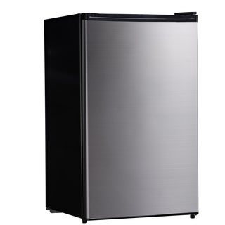 4.4 Cu. Ft. Free Standing Compact Refrigerator with Half-Width Chiller Compartment