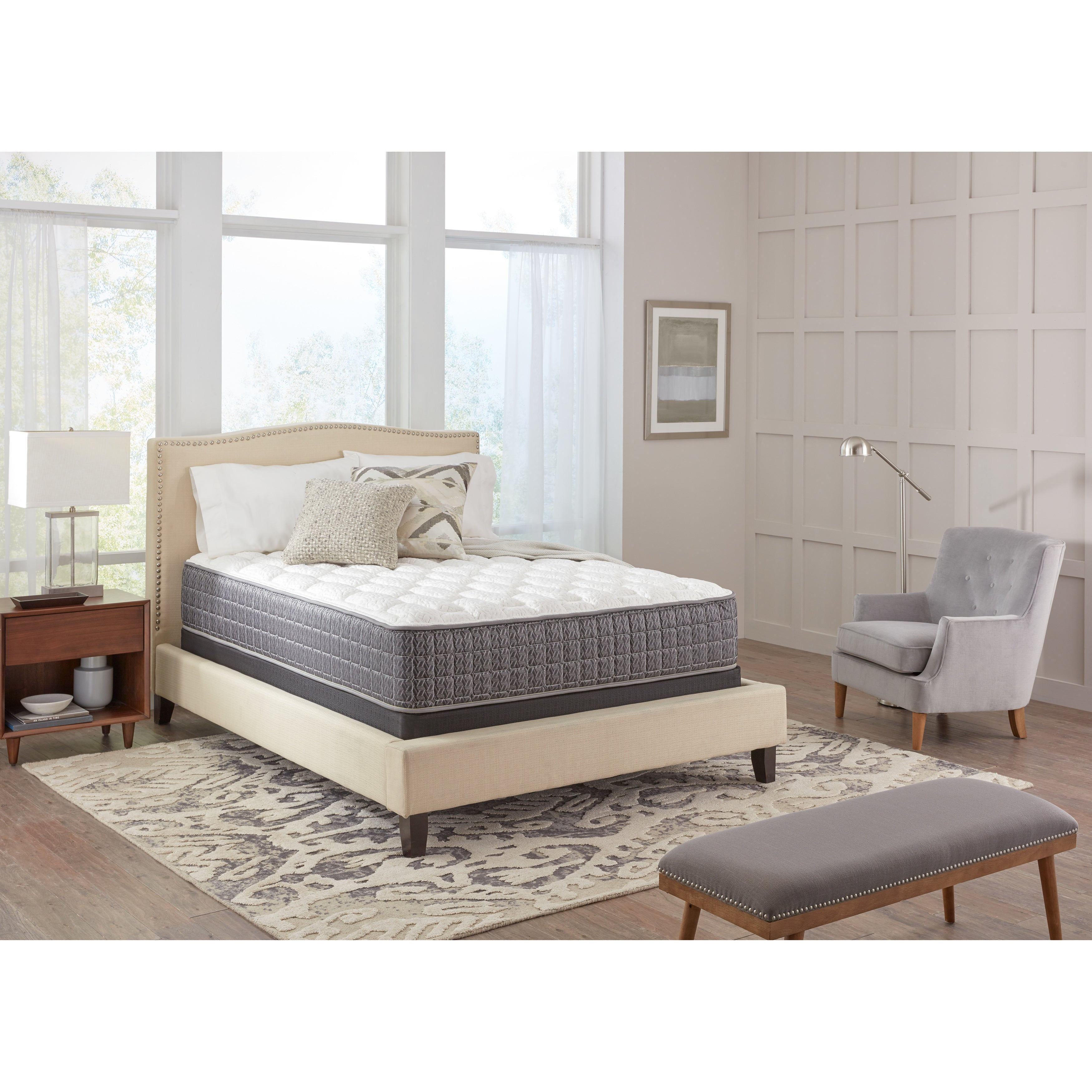 Spring Air Backsupporter Sadie Firm Twin-size Mattress Se...