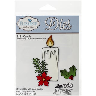 Elizabeth Craft Metal Die-Candle