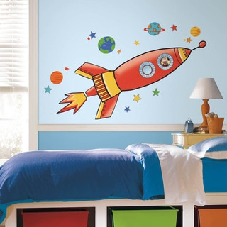 Rocket Peel And Stick Giant Wall Decals Part 68