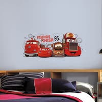 Cars 2 Friends to the Finish Peel and Stick Giant Wall Decals