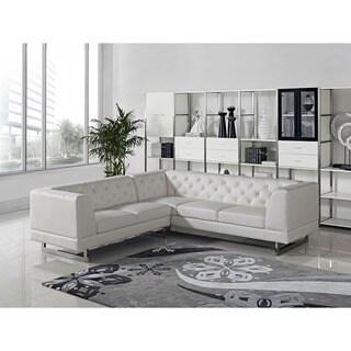 DG Casa Dark Raisin Allegro Sectional Sofa