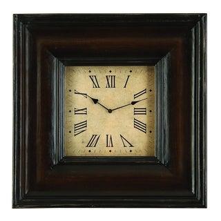 Rectangular Shape Wood Clock