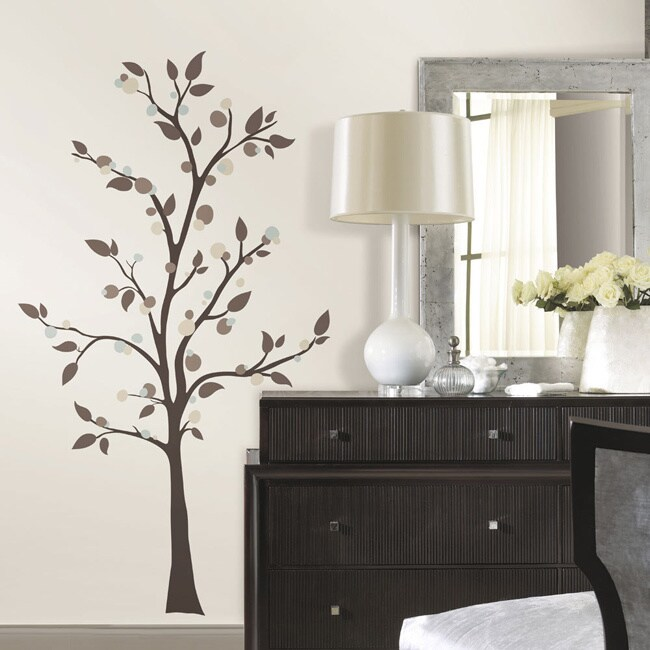 RoomMates Mod Tree Peel and Stick Giant Wall Decals (Mult...