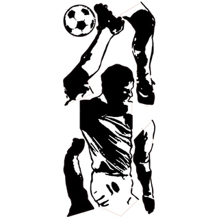 Soccer Player Peel & Stick Giant Wall Decals