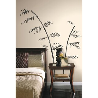 Painted Bamboo Peel & Stick Giant Wall Decal