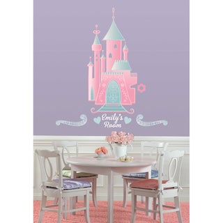 Disney Princess - Castle Peel & Stick Giant Wall Decal w/Personalization