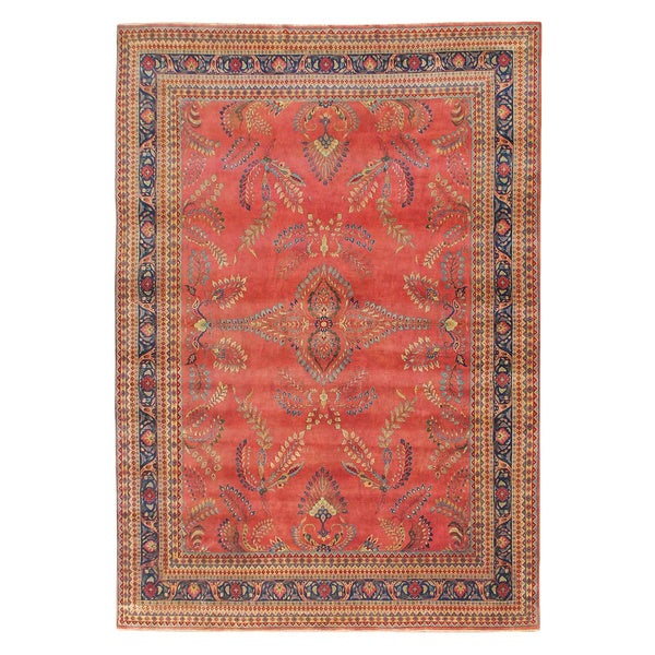 Mansion Sized Area Rugs Knotted Size Sarouk New Zealand Wool Rug 18 X 24 Free