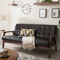 Carson Carrington Karkkila Brown Sofa