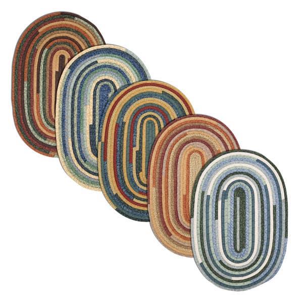Artisan Braided Reversible Rug USA MADE - 10' x 13'