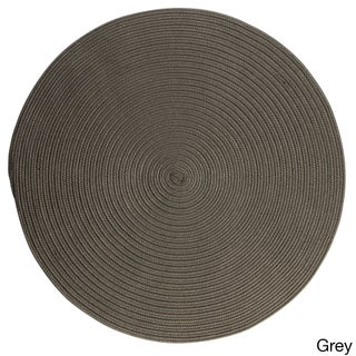 Havenside Home Rodanthe Round Reversible Indoor/ Outdoor Area Rug (12' x 12') (More options available)