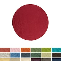 Anywhere Round Reversible Indoor/ Outdoor Rug (12' x 12') - 12' x 12'