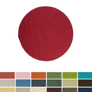 Anywhere Round Reversible Indoor/ Outdoor Rug (10 ' x 10')