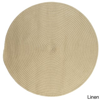 Havenside Home Rodanthe Round Reversible Indoor/ Outdoor Area Rug (10 ' x 10') (More options available)