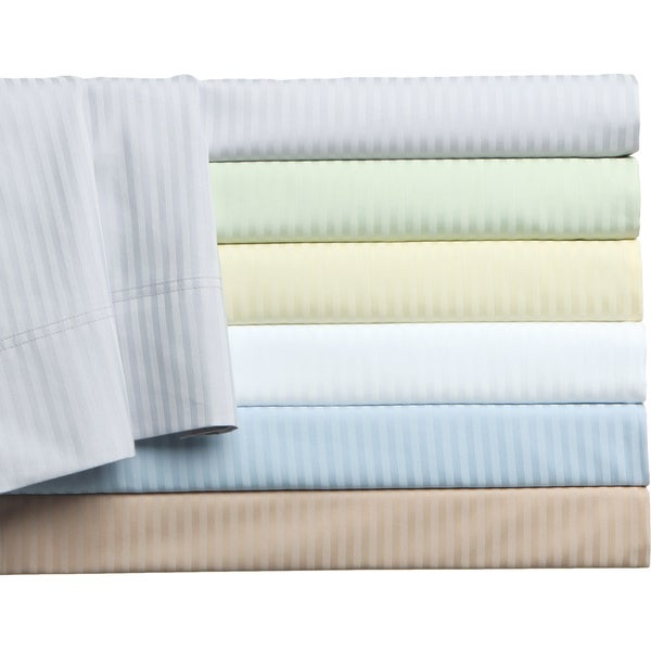 500 Thread Count Cotton Regency Stripe 6-piece Sheet Set