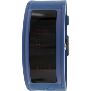 Black Dice Men's Guru BD-044-13 Blue Rubber Quartz Watch with Digital Dial