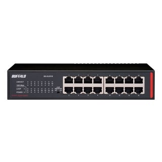BUFFALO 16-Port Desktop/Rackmount Gigabit Green Ethernet Switch (BS-G