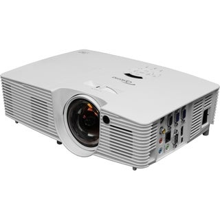 Optoma W316ST WXGA 3600 Lumen Full 3D DLP Short Throw Projector with