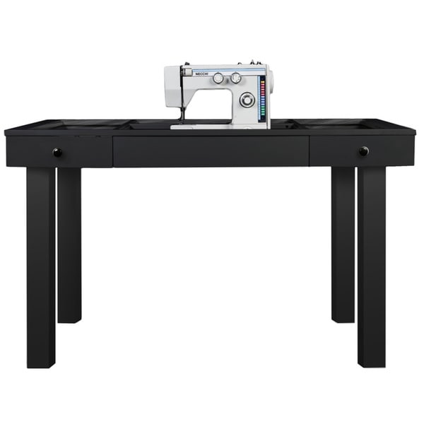 Delicieux The Lilly Scrapbox Black Sewing Table