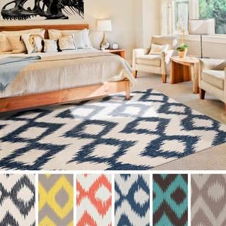 Flatweave Lanester Flatweave Wool Rug - (3'6 x 5'6)