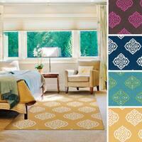 Flatweave Miami Wool Area Rug - 5' x 8'