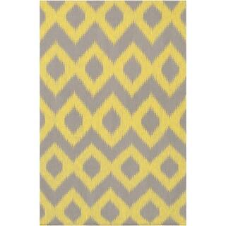 Flatweave Leu Wool Rug (8' x 11')
