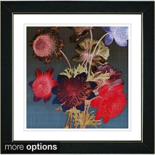 Studio Works Modern Zhee Singer 'Night Bloom' Framed Fine Art Print