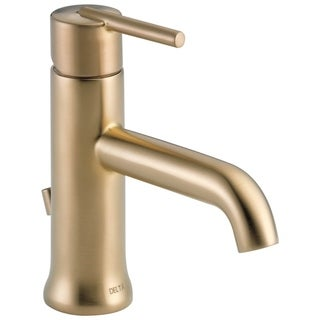 Delta Trinsic Single-handle Champagne Bronze Bathroom Faucet