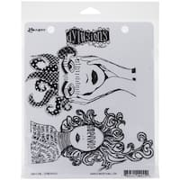 "Dyan Reaveley's Dylusions Cling Stamp Collections 8.5""X7""-Survivor"