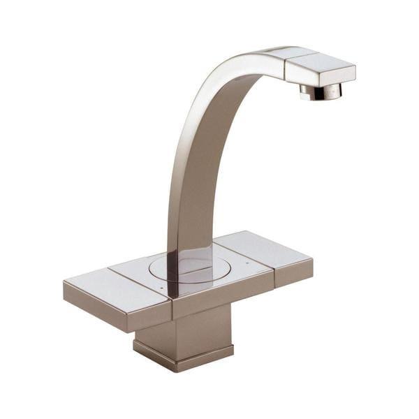 Brizo Loki Brushed Nickel Double-handle Single-hole Lavatory Faucet ...