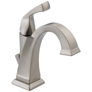Delta Dryden Single-handle Centerset Lavatory Faucet in Brilliance Stainless