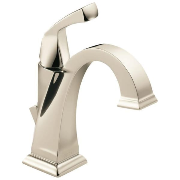 Delta Dryden Single Handle Centerset Lavatory Faucet In Polished Nickel Free Shipping Today