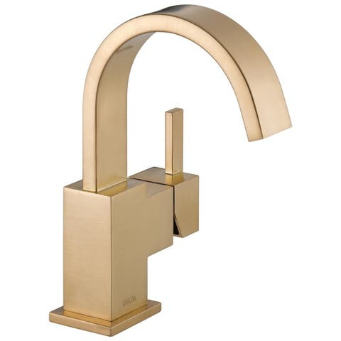 Delta Vero Single Handle Lavatory Faucet 553LF-CZ Champagne Bronze