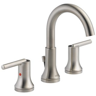 Delta Trinsic Two Handle Widespread Lavatory Faucet 3559-SSMPU-DST Stainless - Silver