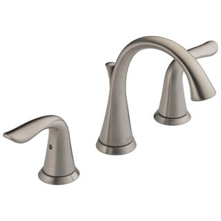 Delta Lahara Two Handle Widespread Lavatory Faucet 3538-SSMPU-DST Stainless